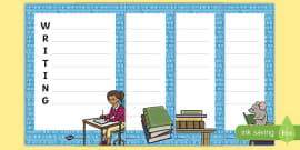 International Literacy Day Acrostic Poems Activity Sheet Pack