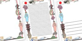 Japanese Page Border