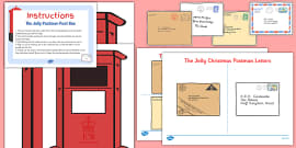 Post Box And Letters Resource Pack To Support Teaching On The Jolly Postman