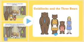Goldilocks and the Three Bears Story PowerPoint