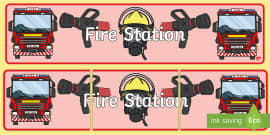 Fire Station Banner