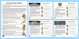 60-Second Reads: Space Activity Cards