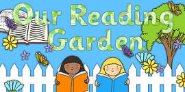 Reading Garden Display Pack