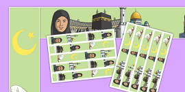 Hajj Display Borders