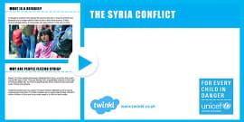 Unicef Refugee Primary Assembly Lesson Presentation