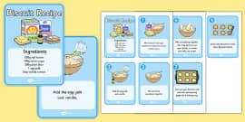 Biscuit Recipe Cards