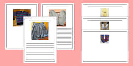 Photo Clothes Writing Frames