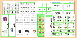 Teaching Assistant Phase 4 Phonics Resource Pack