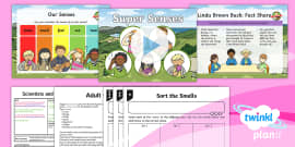 Science: Scientists and Inventors: Super Senses Year 1 Lesson Pack 7