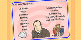 CS Lewis Word Mat