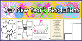 New Year's Resolution Resource Pack