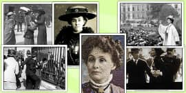 Suffragettes Photo and Pictures Pack