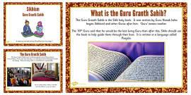 Guru Granth Sahib Teaching and Task Setting PowerPoint
