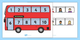 Interactive Bus Counting Activity