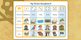 Pirate Story Writing Activity