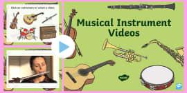 Musical Instrument Video PowerPoint