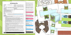 Billy Goats Gruff Bee Bot Activity EYFS Adult Input Plan and Resource Pack