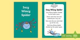 Incy Wincy Spider Nursery Rhyme IKEA Tolsby Frame