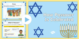 How Passover is Celebrated PowerPoint