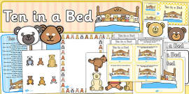 Ten in a Bed Resource Pack