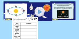 Sun Moon and Earth Overview Differentiated Lesson Teaching Pack