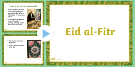 EYFS All About Eid PowerPoint