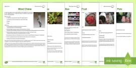 Gardening Club Spring 1 Term  Activity Pack