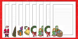 Christmas Page Borders