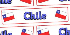 Chile Display Banner