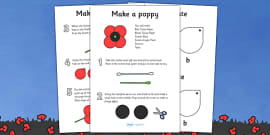 Make Your Own Poppy Instructions