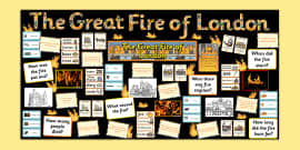 Ready Made Great Fire of London Display Pack
