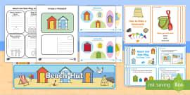 Beach Hut Role Play Pack