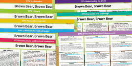 EYFS Lesson Plan and Enhancement Ideas to Support Teaching on Brown Bear Brown Bear