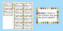 Building Brick Therapy Job Badges