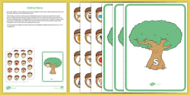 * NEW * Acorn and Oak Tree Phase 2 and 3 Phonics Game