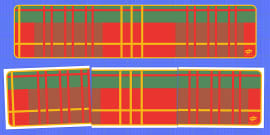 Tartan Editable Display Banner for Publisher