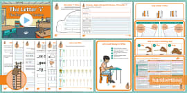 The Journey to Cursive: The Letter 'i' (Ladder Family Help Card 2 ) KS1 Activity Pack