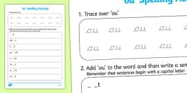 Spelling Challenge Activity Activity Spelling Activity
