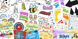 EYFS Outdoor Play Resource Taster Pack
