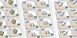 Gorilla Themed Editable Book Labels