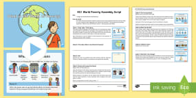 * NEW * KS1 World Poverty Assembly Pack