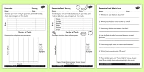 Worksheets On Collective Nouns For Grade 3 Pdf Tally And Graph Activity Sheet Template  Tally Template Graph Unit Conversions Worksheet With Answers with Inca Worksheet Word Favourite Fruit Tally And Pictogram Activity Sheets 1040 Ez Worksheet