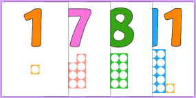 Numbers With Number Shapes...