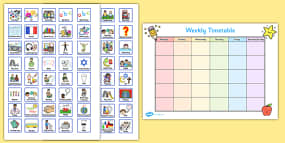 Weekly Planner with Cards V...
