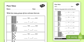 5th Grade Algebra Worksheets Pdf Greater Than And Less Than Activity Sheets  Year  Maths Conservation Of Energy Worksheets Word with Helen Keller Worksheets Pdf Place Value Activity Sheet Place Value Tens And Ones Cut And Stick  Worksheet Maths Worksheets For Year 4 Pdf