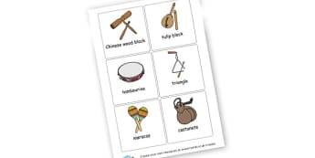 Musical Instruments - Music Literacy Primary Resources -  Primary Resources, musical in