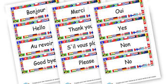 French Greetings Cards - French Literacy Primary Resources,French,Languages,Literacy,Words