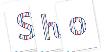 Shop Sign - Display Lettering - Shops and Businesses Role Play Primary Resources, shop, business