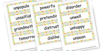 Phase 6 Words - Letters and Sounds Phase 6 Visual Aid Primary Resources, Phase Six