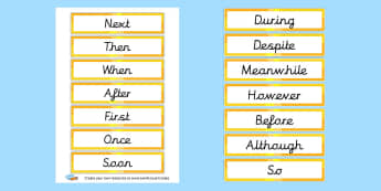 Display Sentence Starters Primary Resources, Display - Page 2